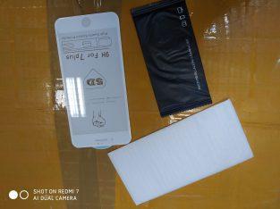 Verre trempé iPhone 7 plus choc 5d