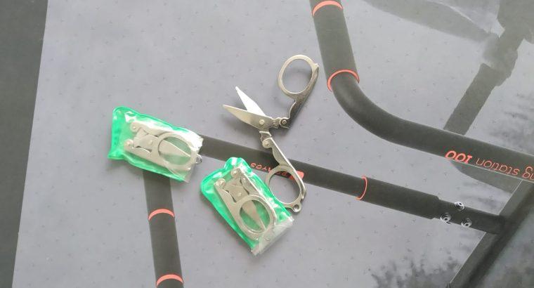 Lot de 3 petits ciseaux porte clés