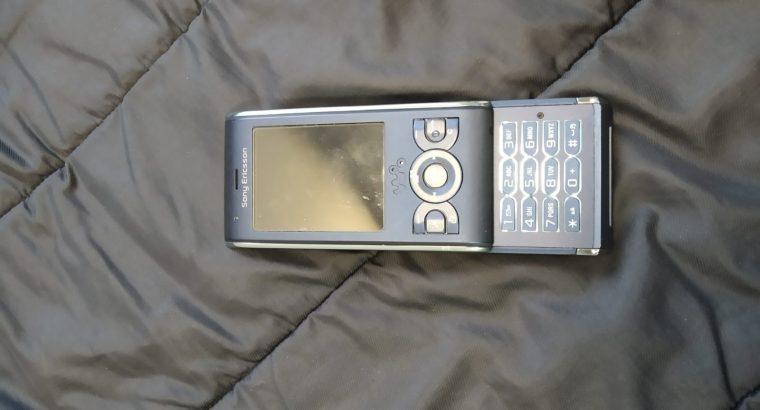 Téléphone vintage sony ericsson W595