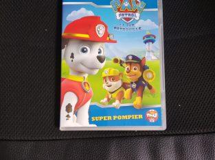DVD Paw Patrol Super Pompier