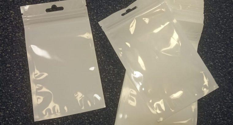 Sachet à fermeture Zip transparent TAILLE 10 x 15