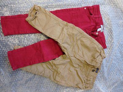 2 Pantalons enfant 24 mois