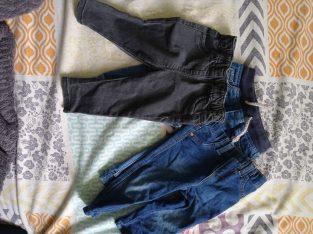 Pantalon jean pour enfant 6-9 mois